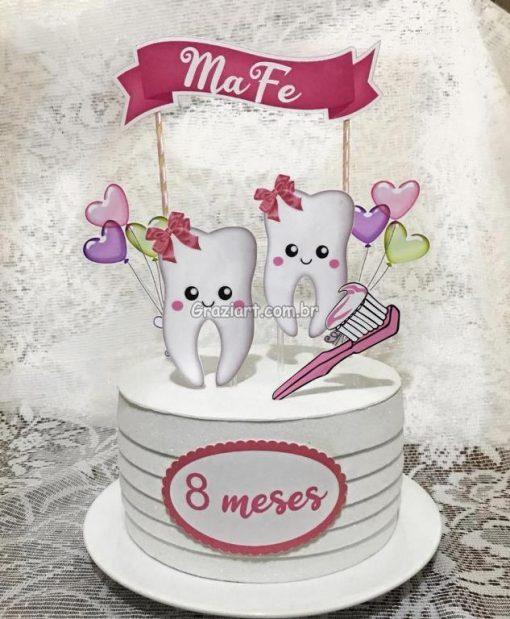 Lembracinhas e papelaria personalizada 154 510x619 - Toppers para bolos