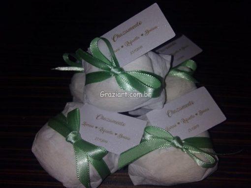 Ursinho verde e branco 36 510x383 - Chá de Bebê Branco e verde ursinhos